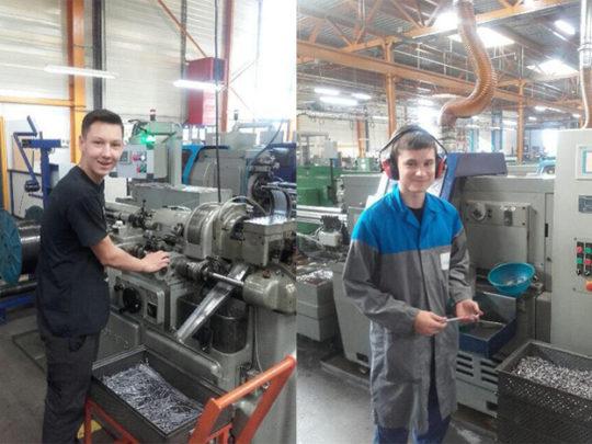 Ferrarini Décolletage ist Partner des Bildungszentrums IV Formavenir in Thyez